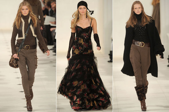 Ralph Lauren, New York Fashion Week autumn/winter 2010
