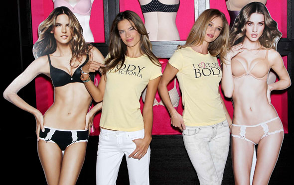 alessandra ambrosio diet. Alessandra Ambrosio (left) and