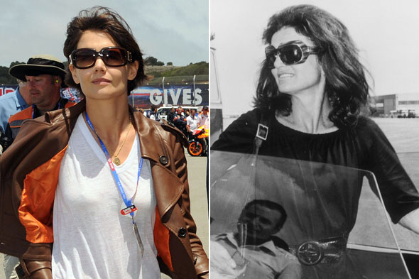 jackie kennedy onassis sunglasses. Over-sized sunglasses are a