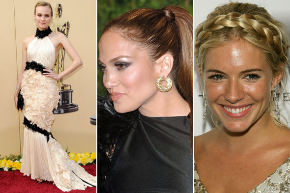 Collared dresses work best when worn with a high ponytail or goddess braid