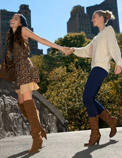 Aldo Jcpenney Shoe Collection Girls Tan Over The Knee Boots Cowboy