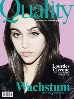 Lourdes Ciccone Leon Lands Her First Magazine Cover - Sort Of