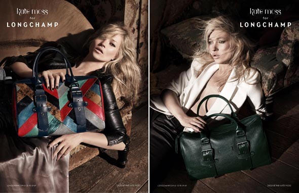 kate middleton longchamp bag. Fall 2010 Kate Moss for
