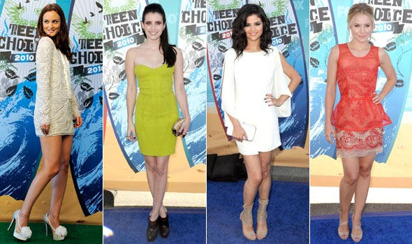 selena gomez outfits 2010. teen choice awards 2010