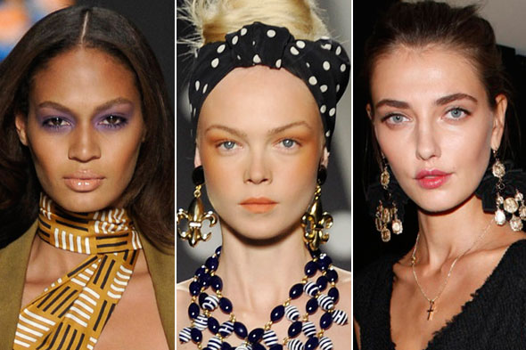 Beauty Trends From Milan Fashion Week Spring 2011