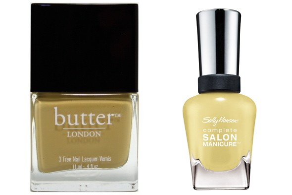 Butter London 3 Free Lacquer in Bumster Sally Hansen Complete Salon Manicure in Yellow Kitty