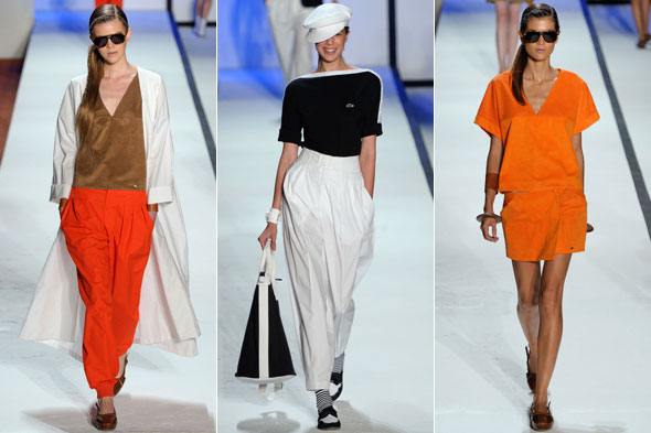 Lacoste Spring 2011 New York Fashion Week Runway Review