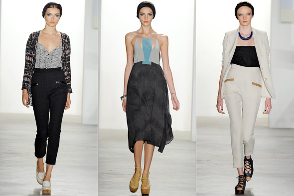 vena cava spring 2011 new york fashion week runway