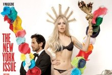 Lady Gaga dresses as Statue Of Liberty, poses with Marc Jacobs for V magazine September Issue