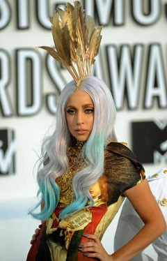Lady Gaga Ombre Hair
