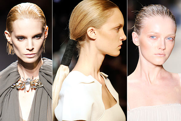 Beauty Trends From Paris Fashion Week Spring 2011 – Mohawks, Hair Gel & Vibrant Eyes