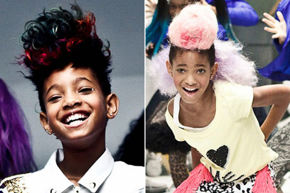"Willow Smith keeps it fun and funky in her ""Whip My Hair"" video with a"