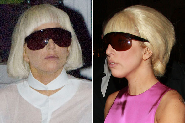 lady gaga hairstyles how to. Lady Gaga remixes her strands