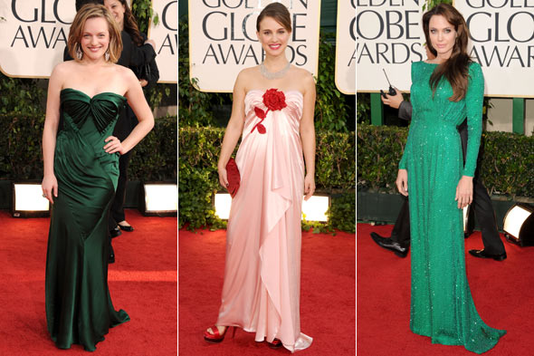 Elisabeth Moss, Natalie Portman, Angelina Jolie