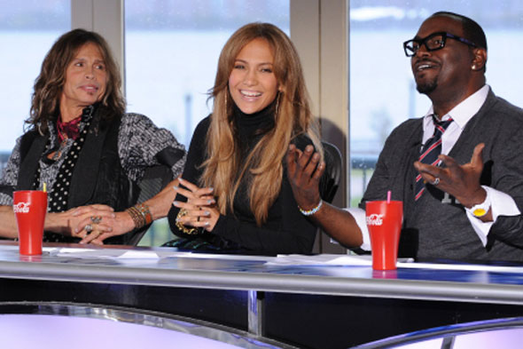 jennifer lopez hairstyles on american idol. Steven Tyler Jennifer Lopez