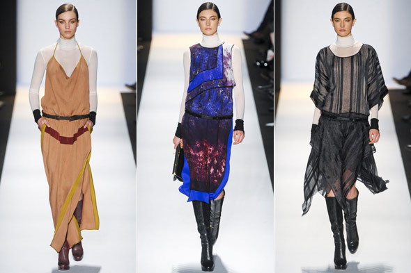 BCBG Max Azria catwalk autumn winter 2011/12