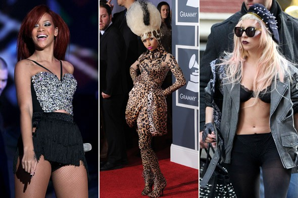 rihanna lady gaga nicki minaj pop star styles