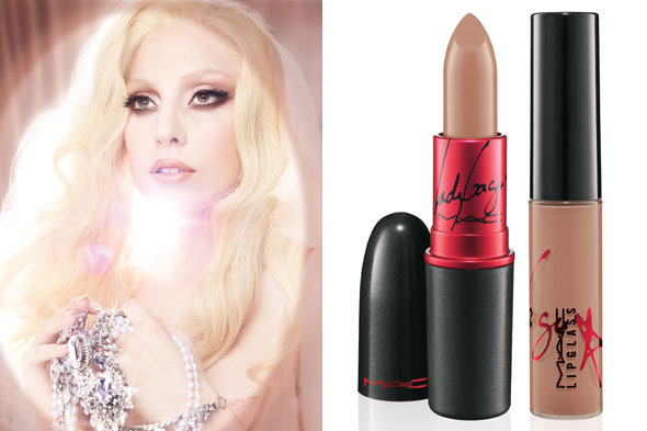 mac lady gaga lipstick swatch. Lady Gaga MAC Viva Glam Gaga 2