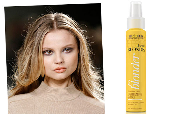Maddyson roam fashionistas delight want spray on highlights try the beauty team at refinery29 have discovered a do it yourself product that lightens locks after 3 5 uses putting the 90s hair lightener favorite solutioingenieria Image collections