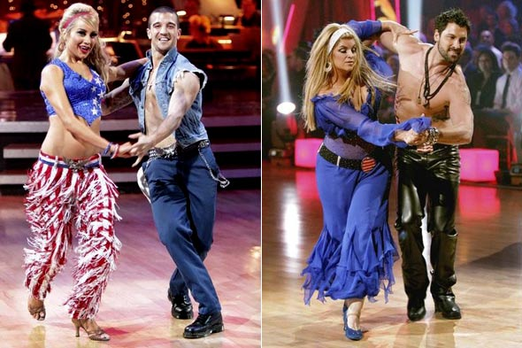 Ginger Zee Dance http://thefashionwire.com/fashion-news/dancing-with-the-stars-costume-recap-star-spangled-patriots-day/