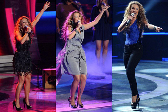 american idol haley dress. American Idol Haley Reinhart