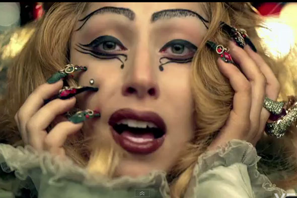 lady gaga judas makeup tutorial. Lady Gaga Judas, Lady Gaga