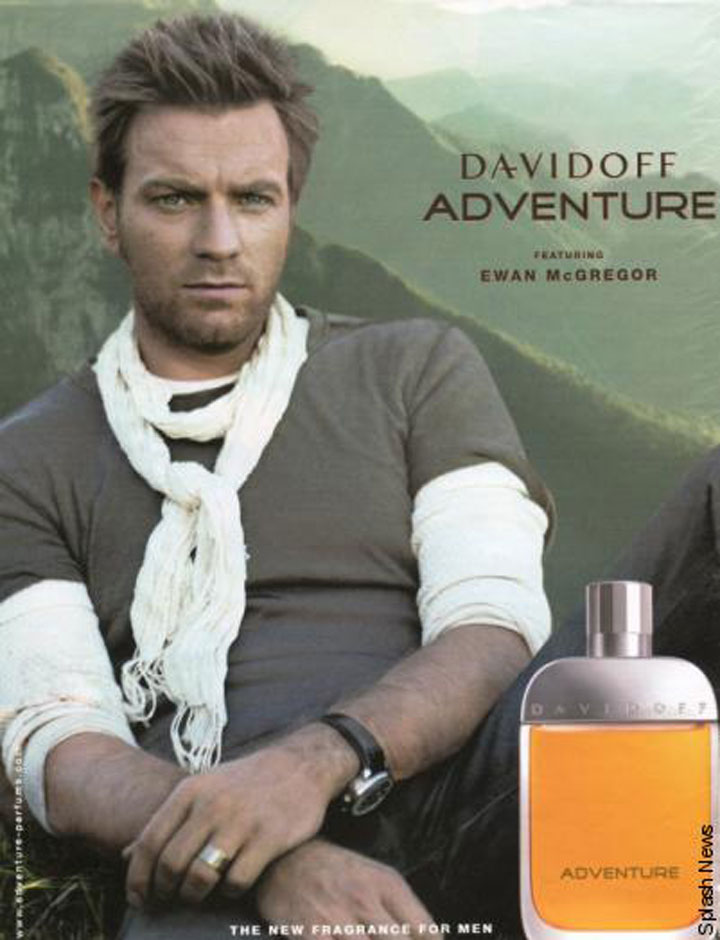 Ewan McGregor for Davidoff Adventure