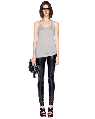 Faux-Ever Leather Leggings