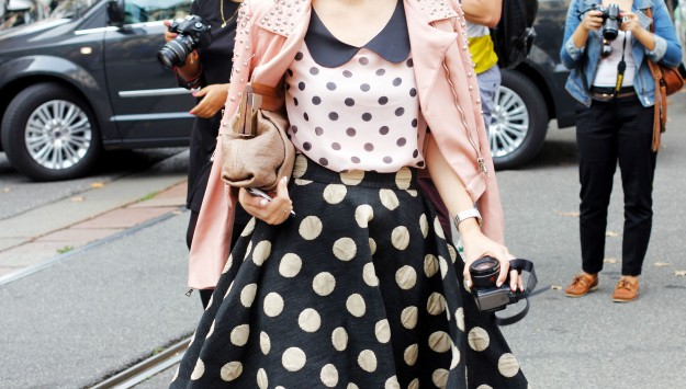 Currently Trending: One Polka Dot Blouse, 3 Ways
