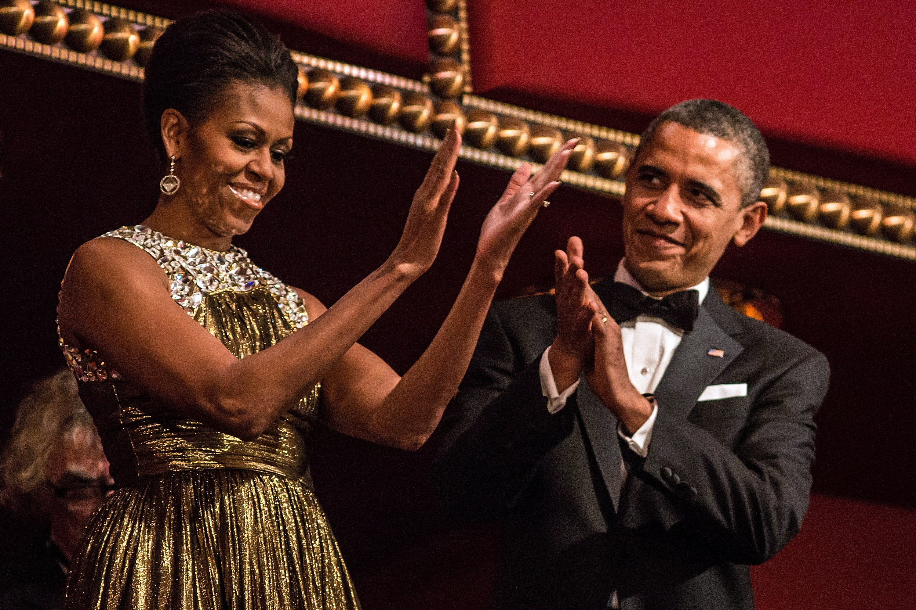Red Carpet at the 2012 Kennedy Center Honors Gala