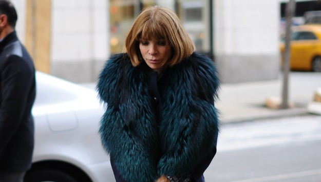 Anna Wintour's Fashion Week Wardrobe (And Her Favorite Fur Coat)