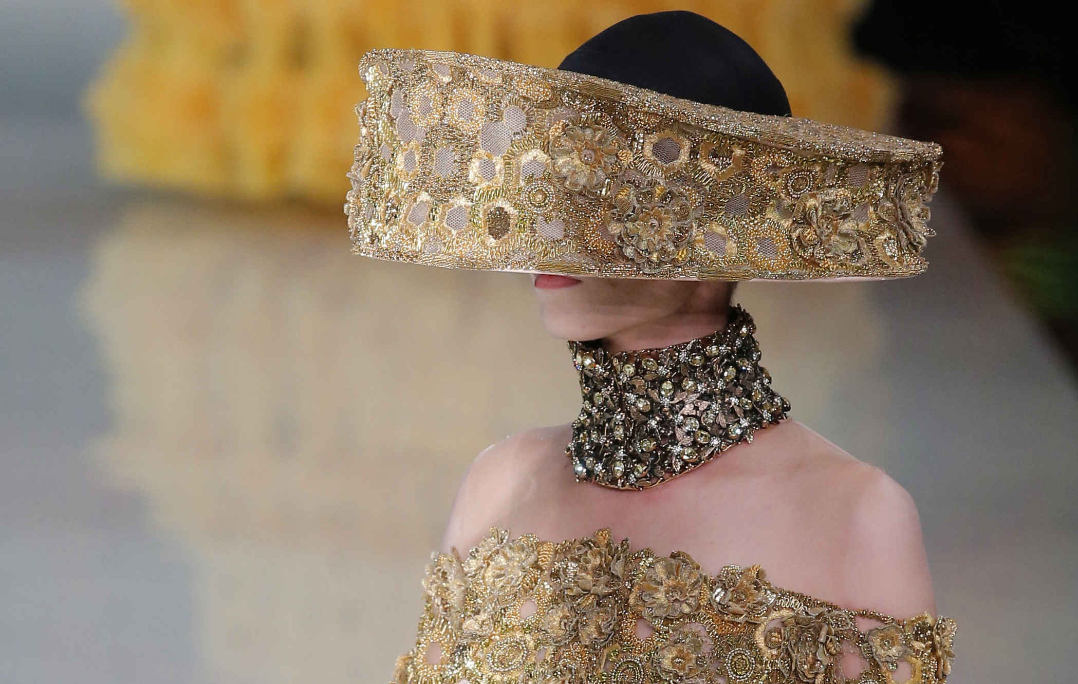 The Newest Headpiece  Trend From Paris Fashion Week