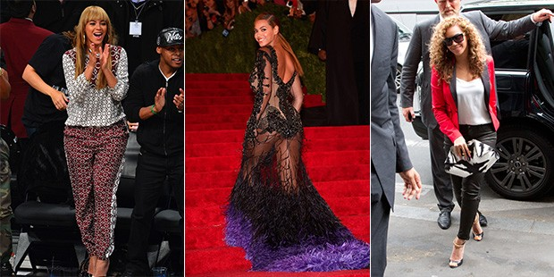 2012 Wrap Up: A Year of Style with Beyonce