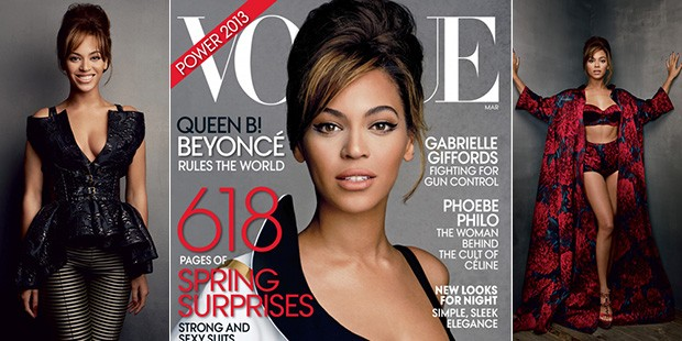 Beyonce Opens Up in Vogue's March 'Power' Issue