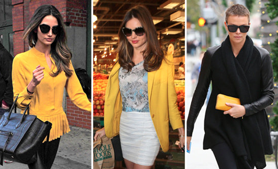 Give Your Winter Wardrobe a Jolt -- Just Add Yellow
