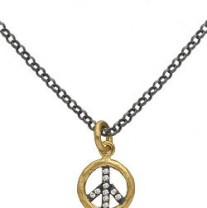 Lika Behar Peace Sign Pendant