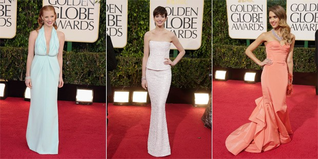 Visions in Red, White and Sparkles: The Best and Worst Dressed of the 2013 Golden Globes
