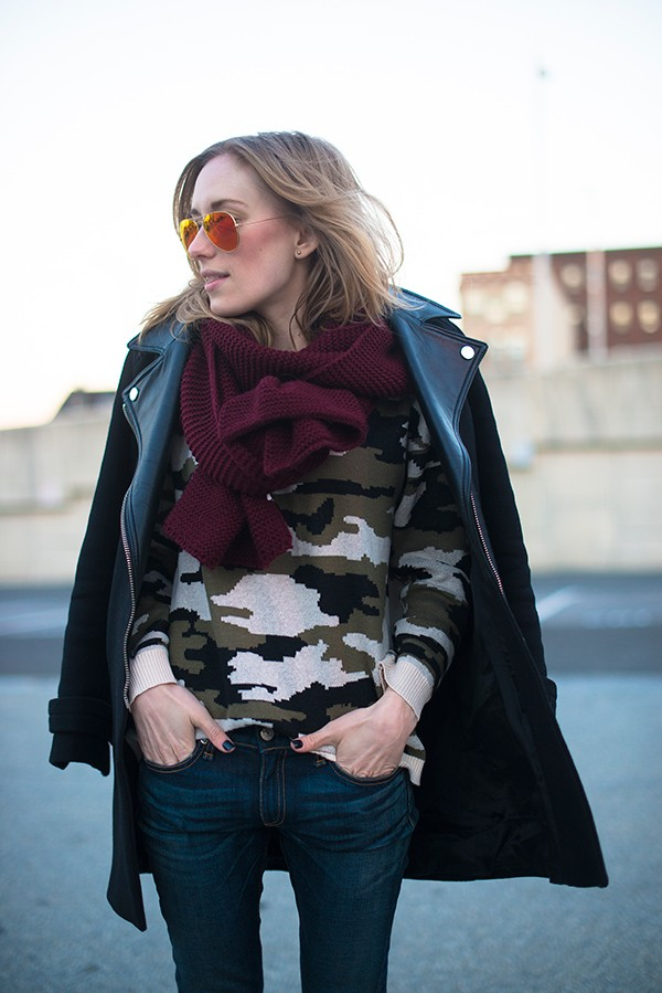 This Week's Curator Street Style: The Art of Transitional Dressing