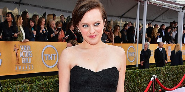 Get the Look for Less: Elisabeth Moss at the Screen Actor's Guild Awards