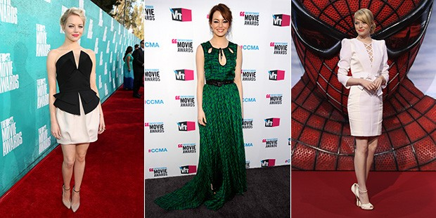 2012 Wrap Up: A Year of Style with Emma Stone