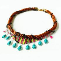 Nutcase Fashion Kershie Neon Necklace