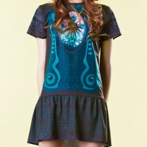 QooQoo Urchin dark dress