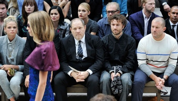 Famous People Looking Miserable in The Front Row