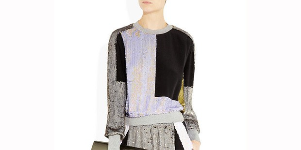When Two (Style) Worlds Collide, You Get These 10 Dressy Sweatshirts