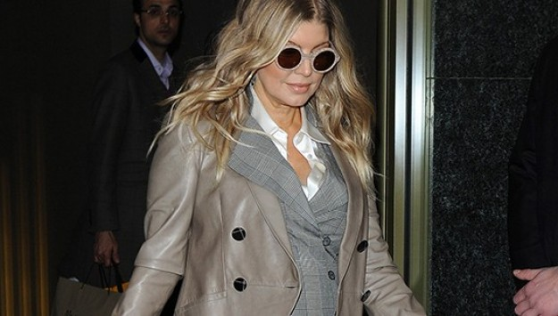 Fergie's Lovely Baby Bump: Out and About in Milan