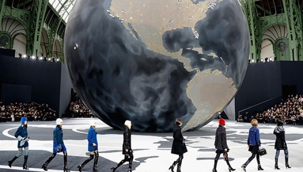 Karl Lagerfeld's Chanel Globe Gets the World Talking