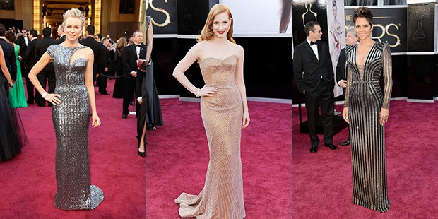 The List Report: Metallic & Galactic Dresses on the Red Carpet