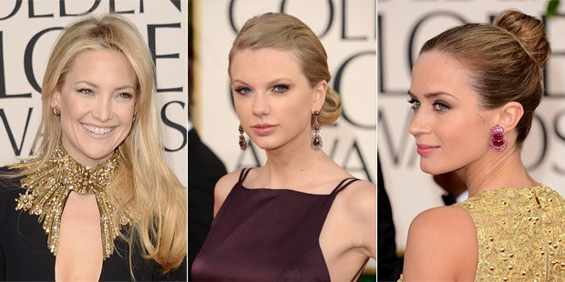 Simple and Elegant: The Best of Beauty on the Golden Globes Red Carpet