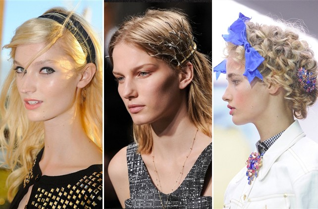 Hair-spiration: 20 Ways to Decorate Your Hair, Straight From the Spring Runways
