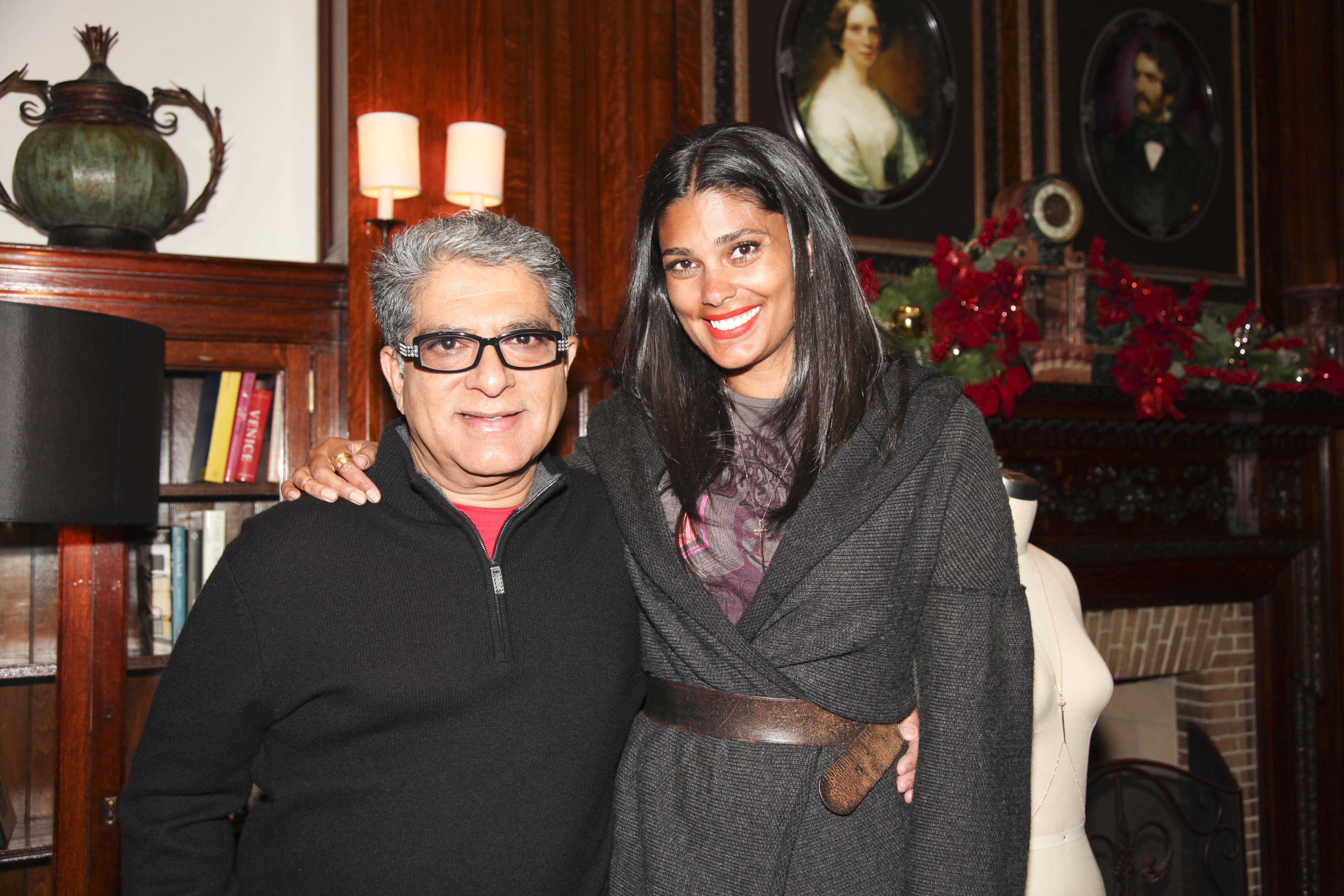 Top 9 at 9: Rachel Roy &amp; Deepak Chopra Collaborate for a Cause 